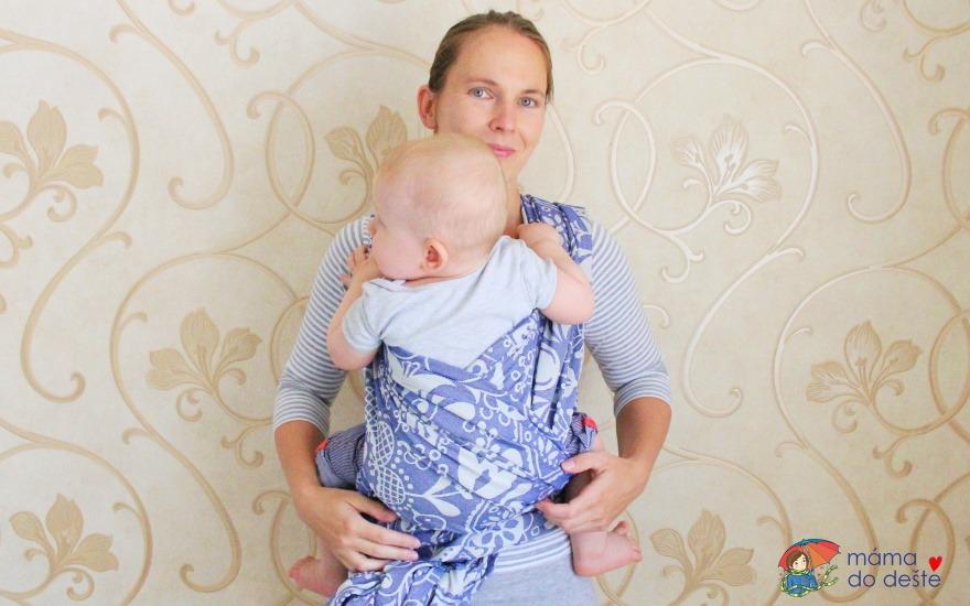 Jak uvázat šátek na nošení dětí