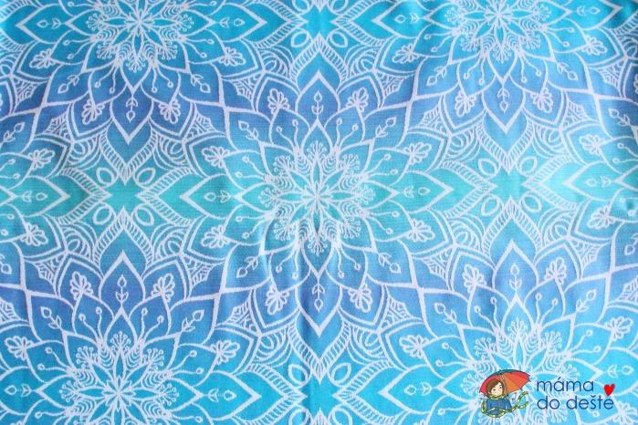 Recenze šátku na nošení dětí Be Lenka Mandala (modrá)