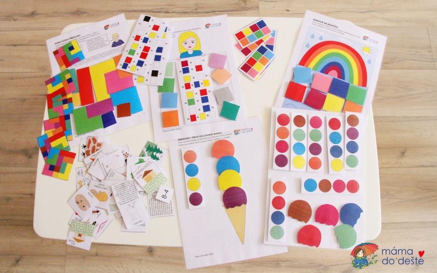 10 tipů na společenské hry pro děti v PDF k vytištění