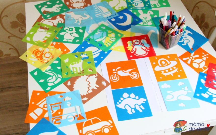 Kreslící šablony Baker Ross pro děti od 4 let: Tipy a návody
