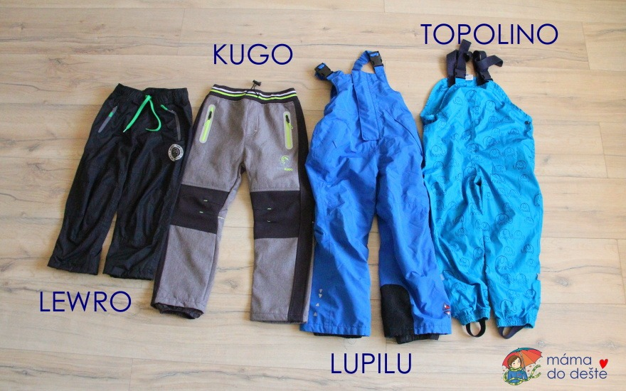 Kvalitní outdoorové kalhoty pro děti: Kde koupit a recenze