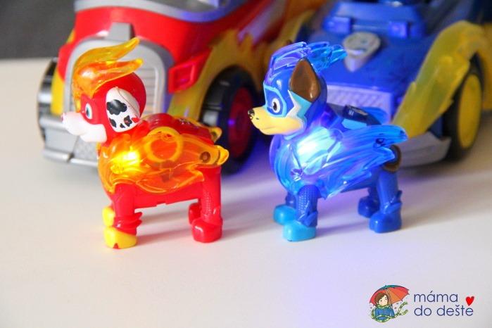 SPIN MASTER Tlapková patrola Marshall a Chase se světelnými efekty