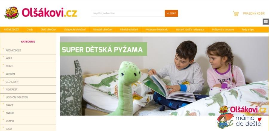 E-shop Olsakovi.cz
