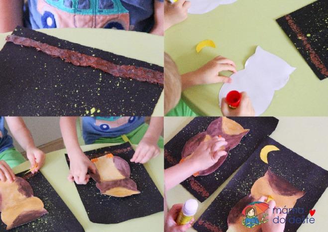 Noční sova: Nádherné tvoření pro děti