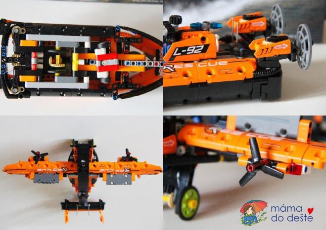 Recenze LEGO Technic 42120 Záchranné vznášedlo