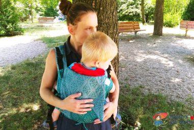 Recenze nosítka Fidella Fusion Baby Size