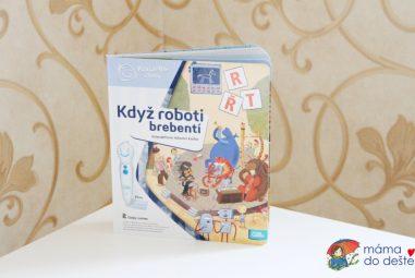 Recenze: Albi kniha Když roboti brebentí (Kouzelné čtení)