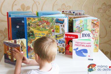 10 tipů na knihy pro dvouleté atříleté děti (vazba leporelo)