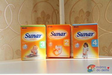 Recenze kojeneckého umělého mléka Sunar Complex