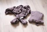 Nosítko pro novorozence Caboo Close Nature Totally Taupe