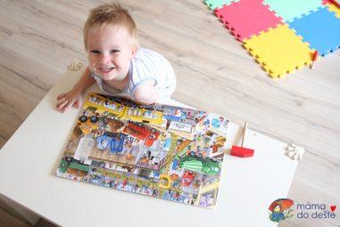 5 knih oautech adopravě pro dvouleté kluky