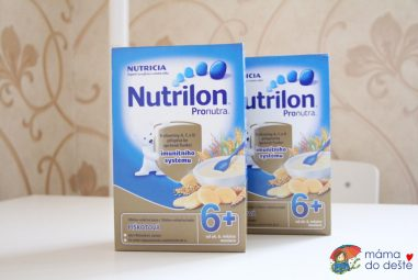 Nutrilon Pronutra obilno-mléčná kaše piškotová