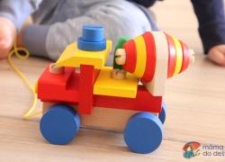 Montážní auto Detoa pro kluky od dvou let (míchačka)