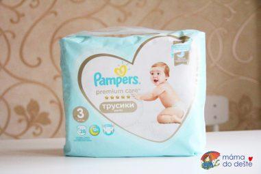 Recenze nejnovějších Pampers Pants Premium Care