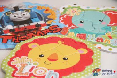 Puzzle za 50Kč pro dvouleté děti? Recenze Trefl Moje první puzzle