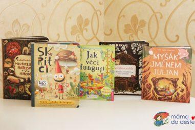 5 překrásných knížek pro děti od 2,5 do 5 let