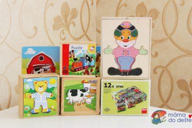 Puzzle askládačky pro děti do 4 let: Jaké vybrat aco vyrobit doma?