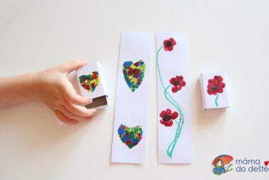 Vyrábíme doma: Záložky aozdobné krabičky