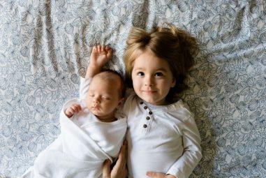 Tipy atriky pro rodiče dvou malých dětí do dvou let