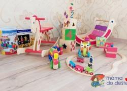 13 šťastných tipů na dřevěné hračky pod stromeček