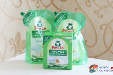 Recenze pracího gelu aprášku Frosch
