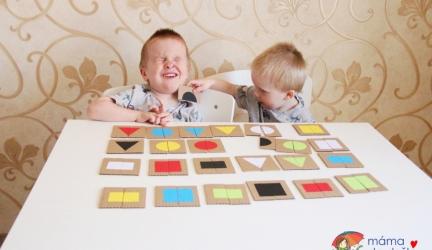 7 DIY tipů na papírové hry pro dvouleté atříleté děti