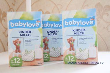Babylove Kindermilch batolecí mléko