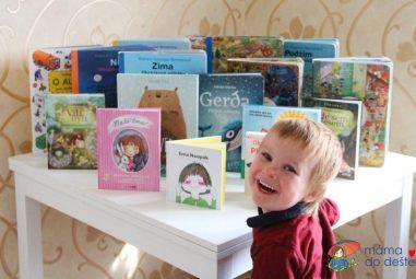 16 tipů na knížky  kVánocům pro děti od 2 do 7 let