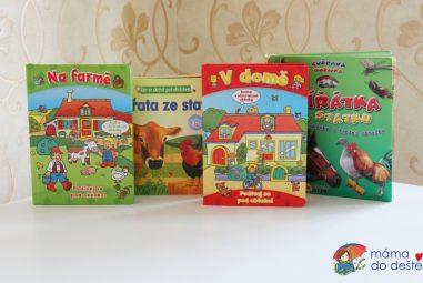 5 tipů na knihy sokénky pro dvouleté děti