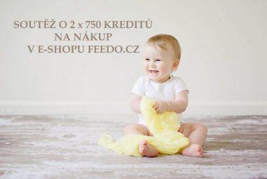 Soutěž sFeedo.cz o2 x 750 kreditů (Kč) na nákup