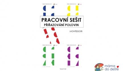 Pracovní sešit přiřazování polovin (Montessori)