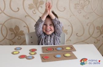 Vyrábíme doma: Hra stvary abarvami