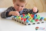 Vyrábíme doma: Hra sbarvami zkartonu od vajec