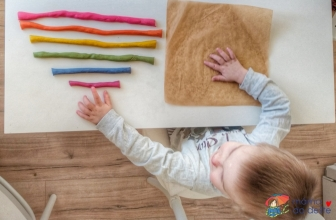 Vyrábíme doma: Slané těsto 3x jinak pro děti od 1,5 roku, 2 a 3 let