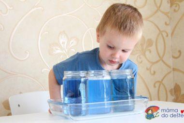 Naše experimenty: Tři pokusy svodou pro nejmenší