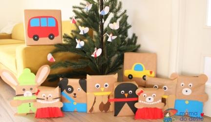 8 tipů, jak originálně zabalit dárky pro děti kVánocům